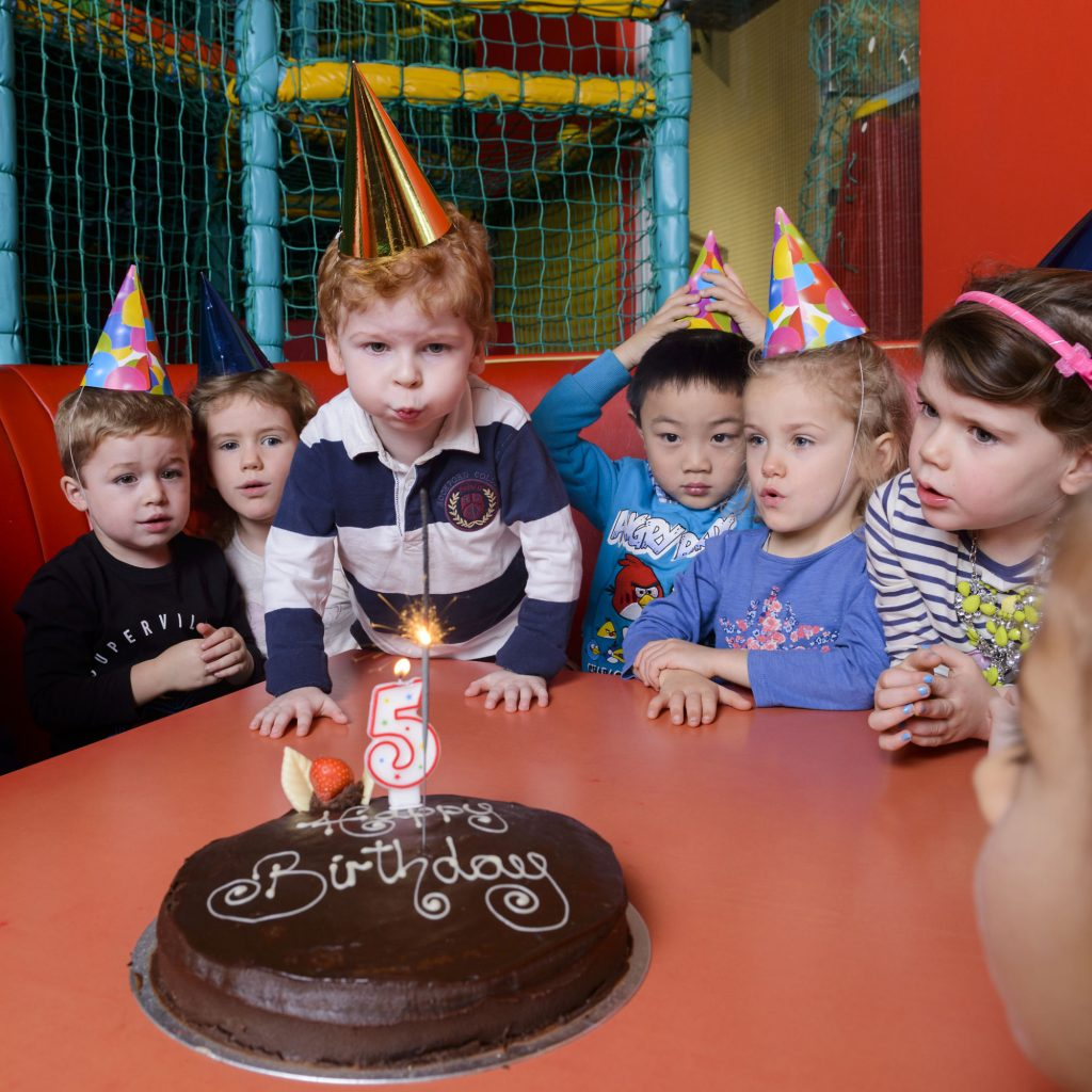 Kids at Birthday Party in Dublin