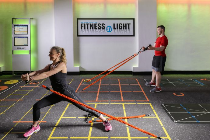 Fitness By Light