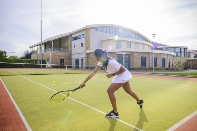 Tennis competitions at West Wood Club Dublin