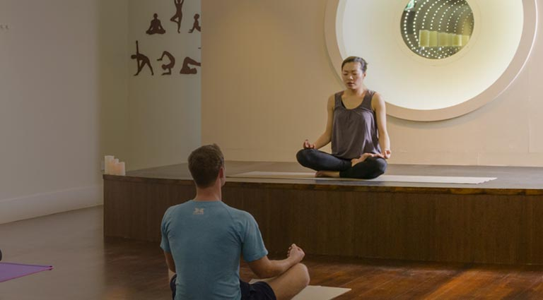Yoga Class Dublin at West Wood Club Leopardstown